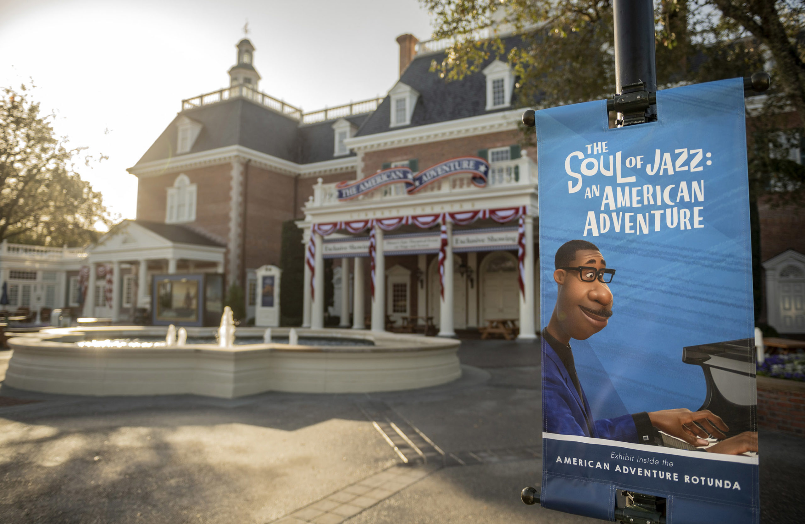epcot-unveils-'the-soul-of-jazz:-an-american-adventure'-exhibit-at-the-american-adventure-pavilion