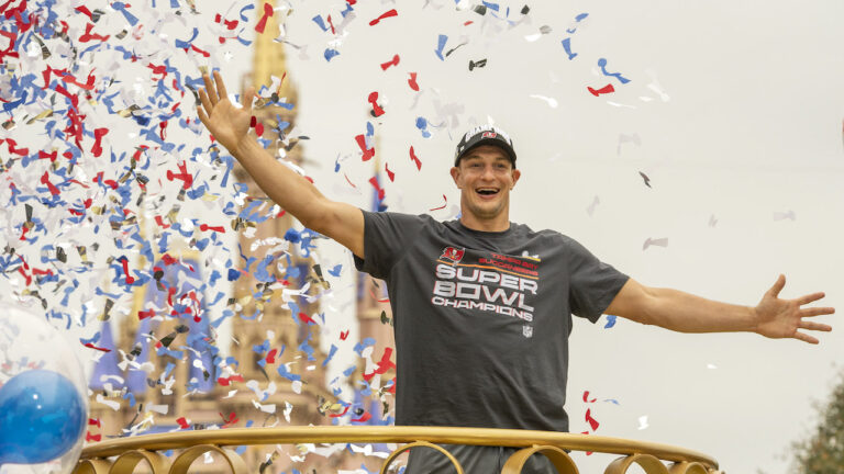 He Went to Disney World! Rob Gronkowski Celebrates Championship Victory at The Most Magical Place on Earth