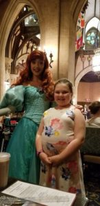 Ariel Cinderellas royal table