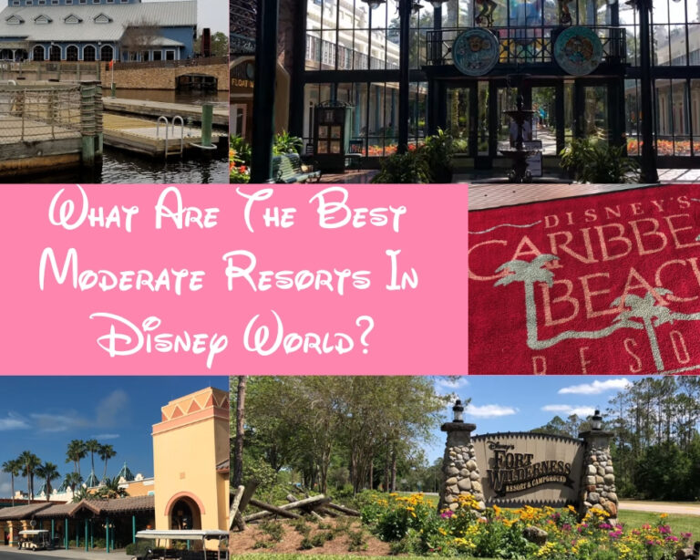 What Are The Best Disney World Moderate Resorts?