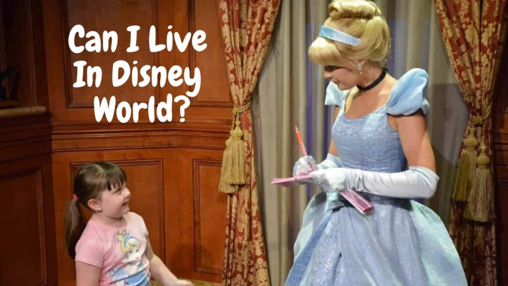 can i live in disney world