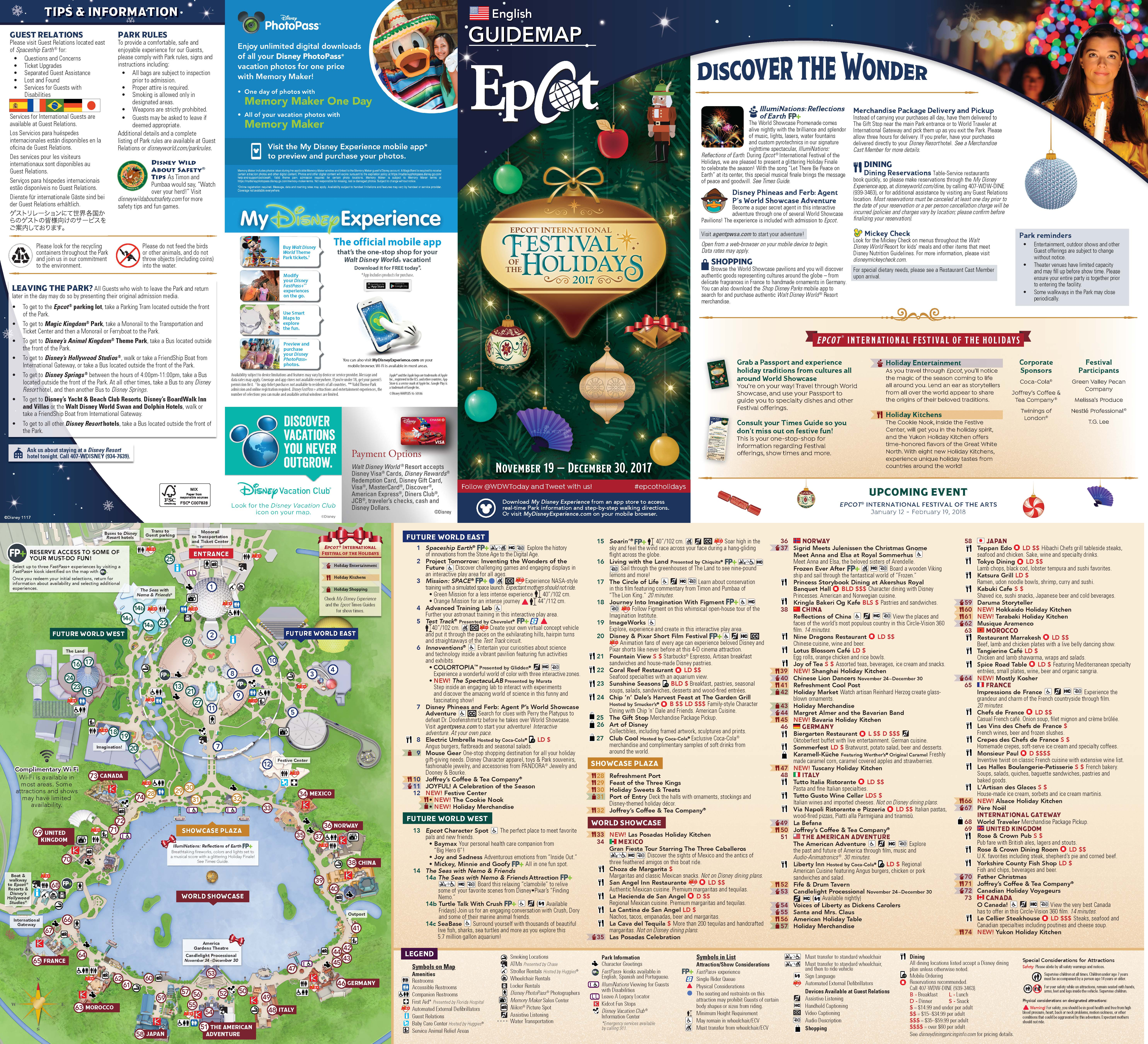 Disney World Maps • WDW Travels