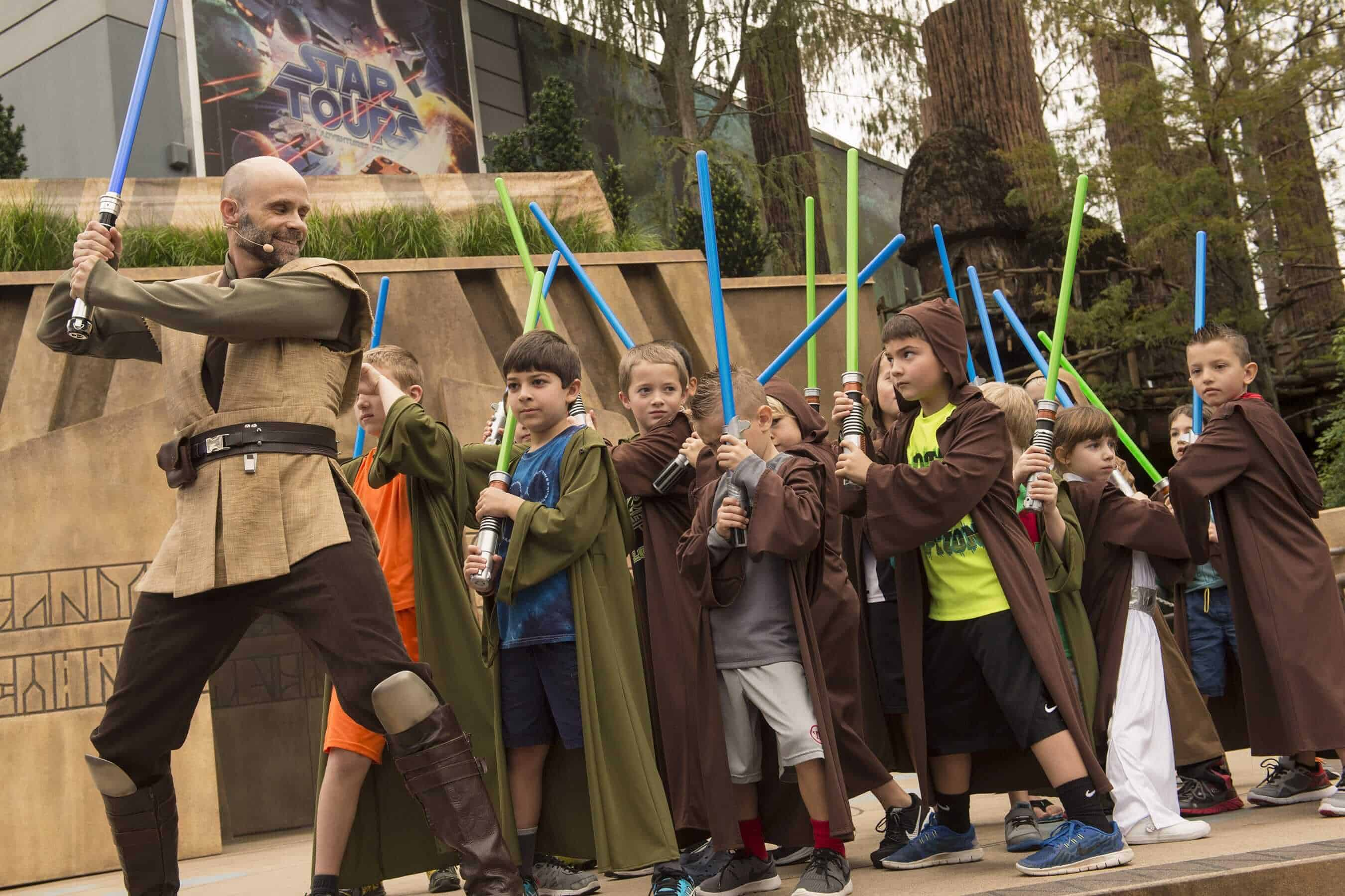 hollywood studios jedi training