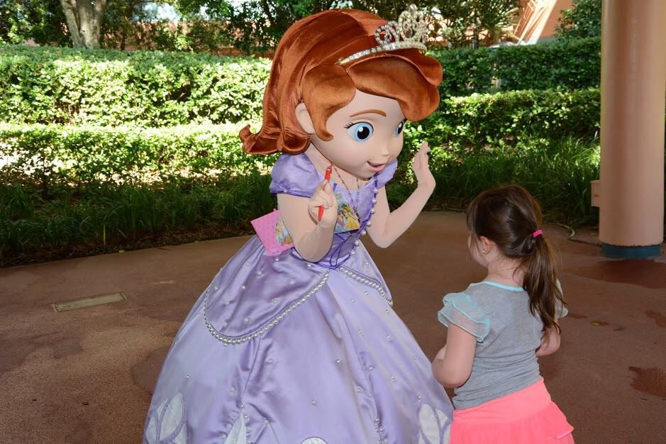 sofia the first disney hollywood studios