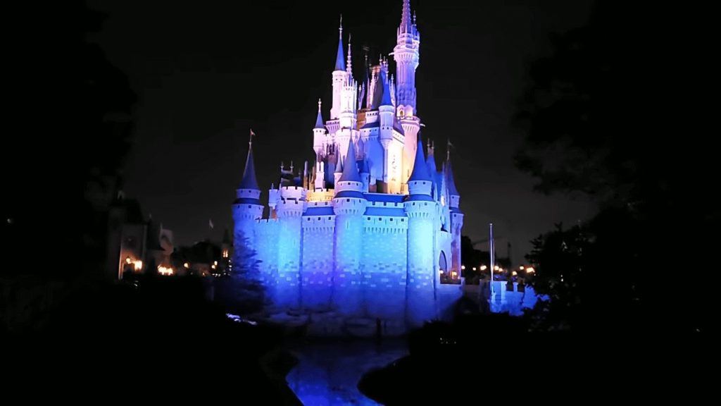 cinderellas castle disney after hours