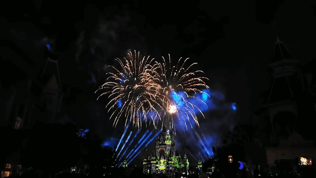 fireworks disney after hours event