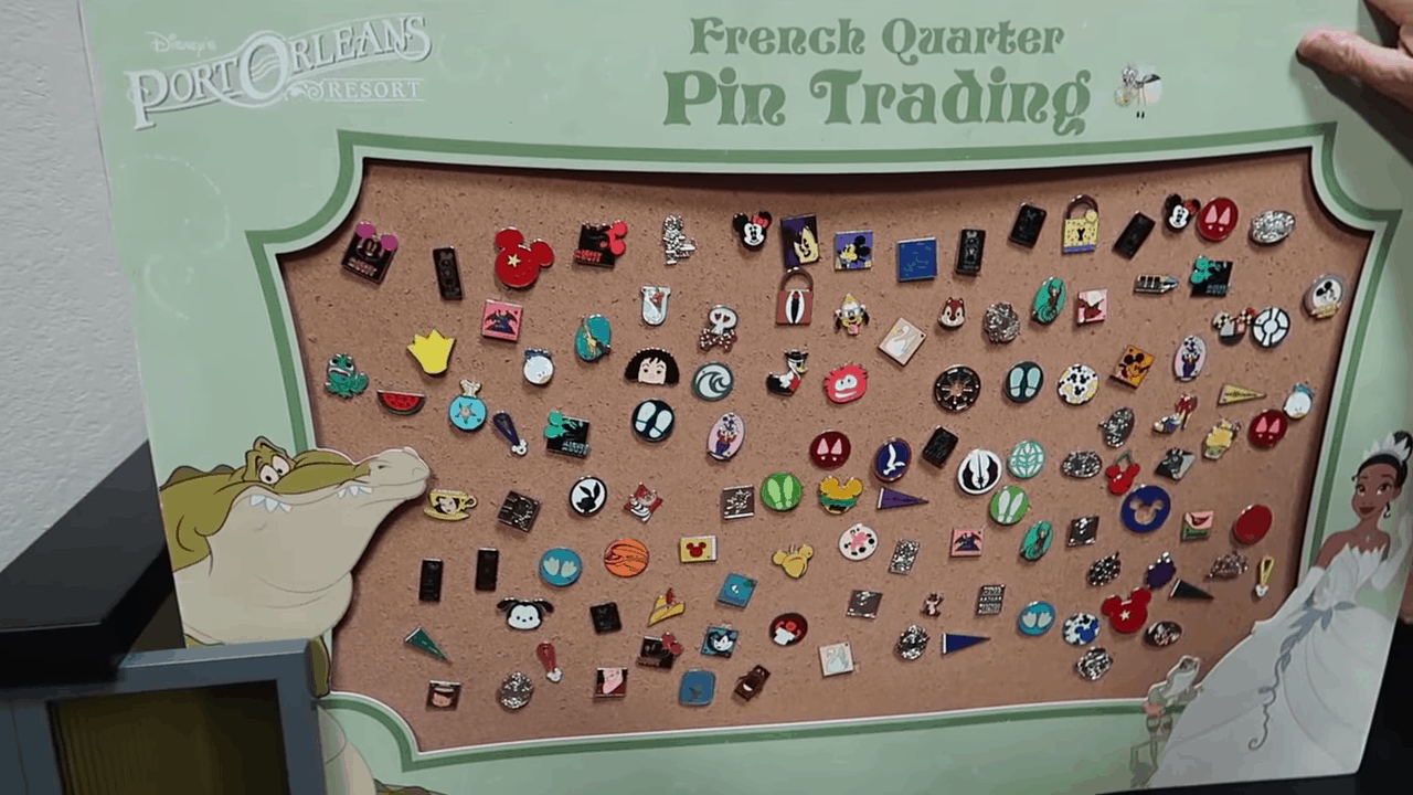 French Quarter Pin Trading