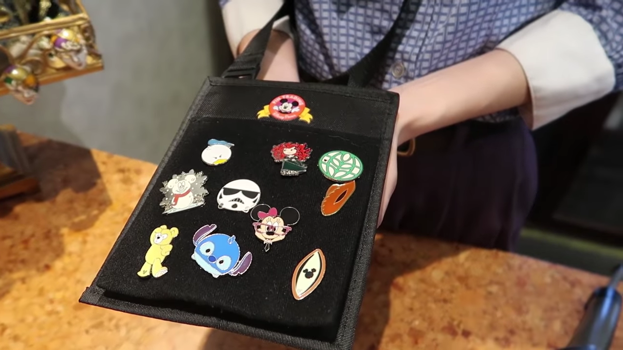 Trading Pins With Cast Member