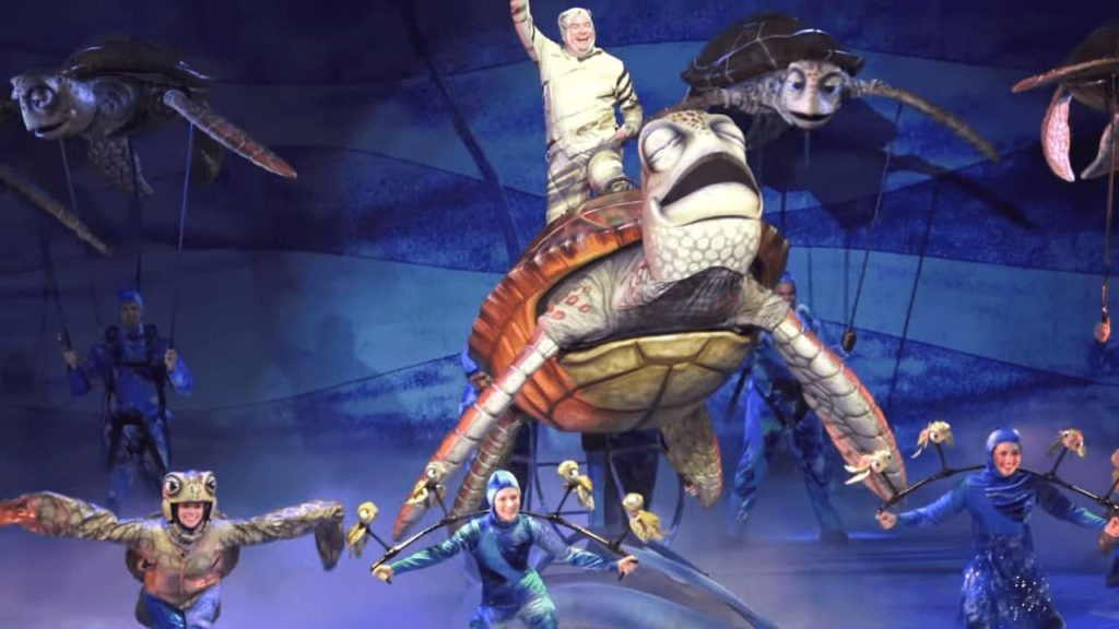 Finding Nemo The Musical stage show