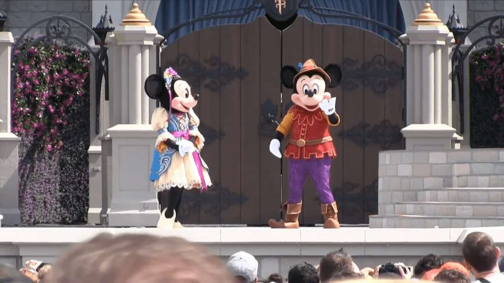 Mickey's Royal Friendship Faire stage show