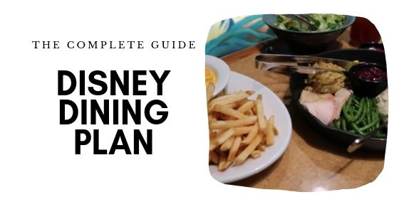 Disney Dining Plan 1