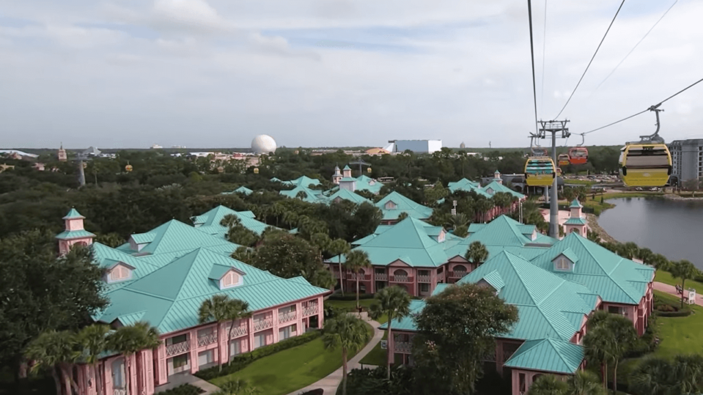 Disney Skyliner Gondola System : Map, Capacity and More 4