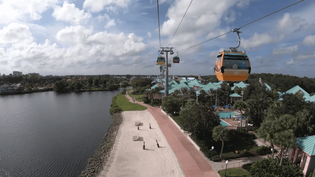 Disney Skyliner Gondola System : Map, Capacity and More 7