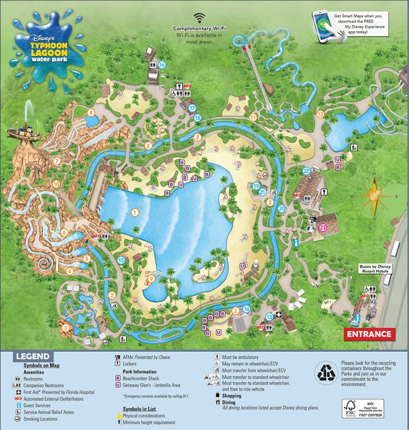 Disney World Maps • WDW Travels