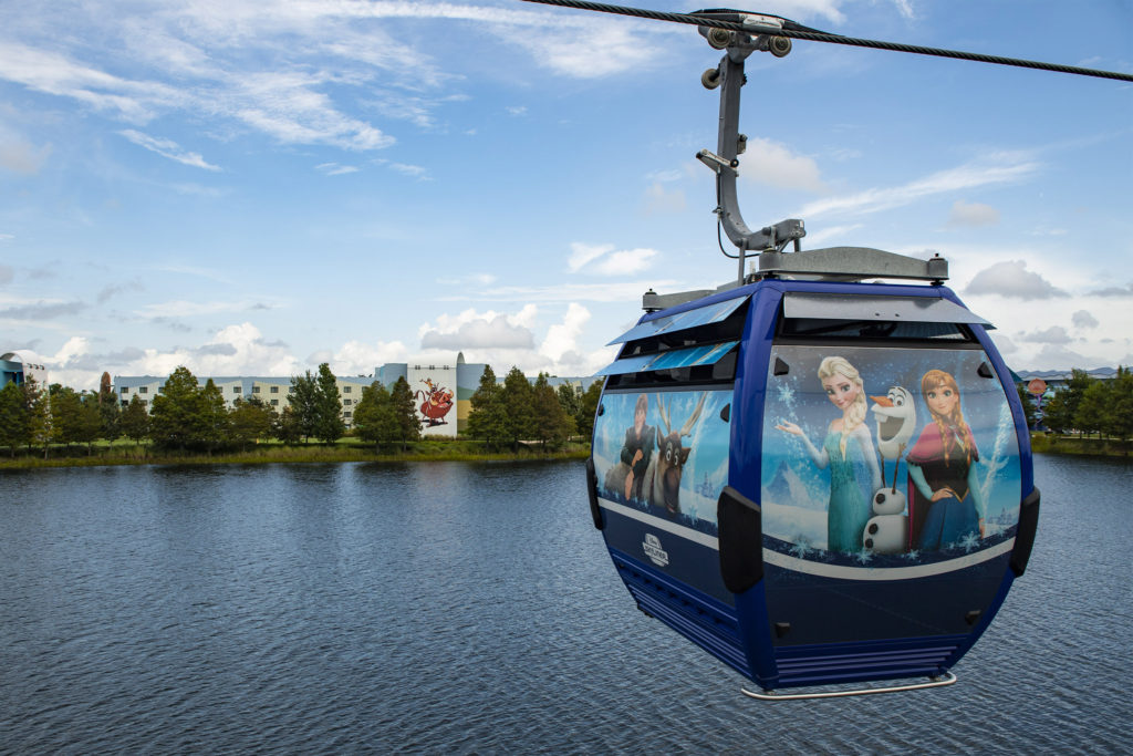 Disney Skyliner Gondola System : Map, Capacity and More Tips 7