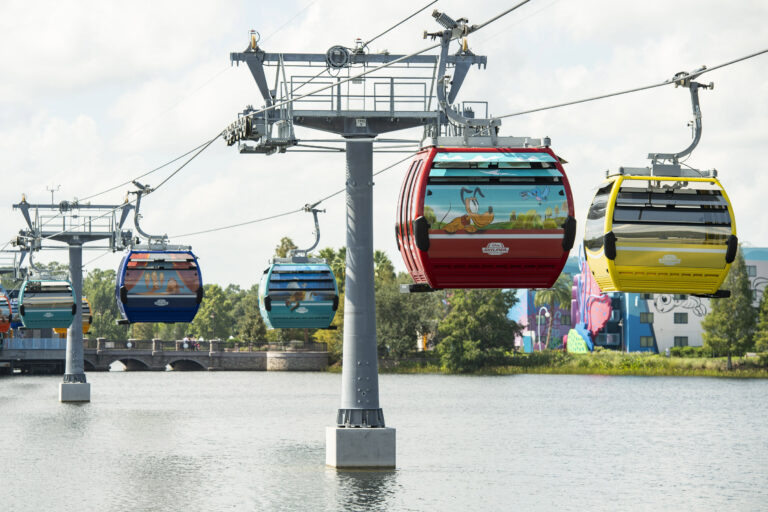 Disney Skyliner Gondola System : Map, Capacity and More