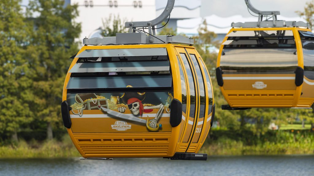 Disney Skyliner Gondola System : Map, Capacity and More 8