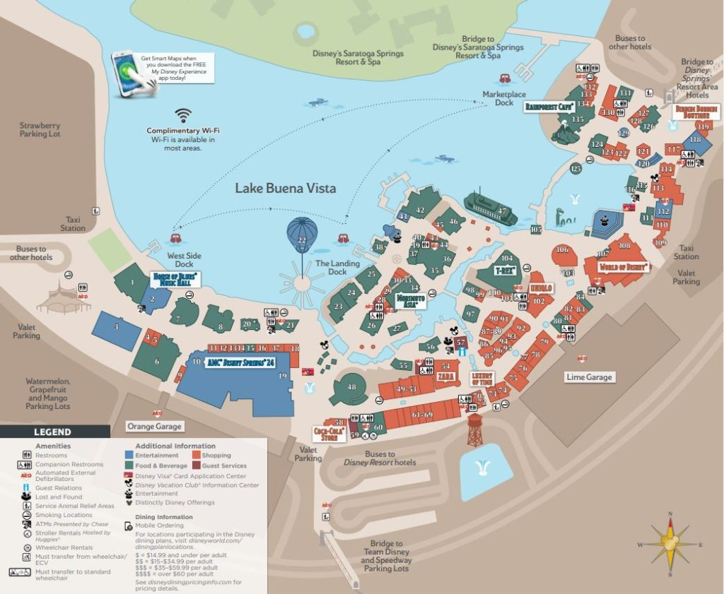 Disney World Maps 16