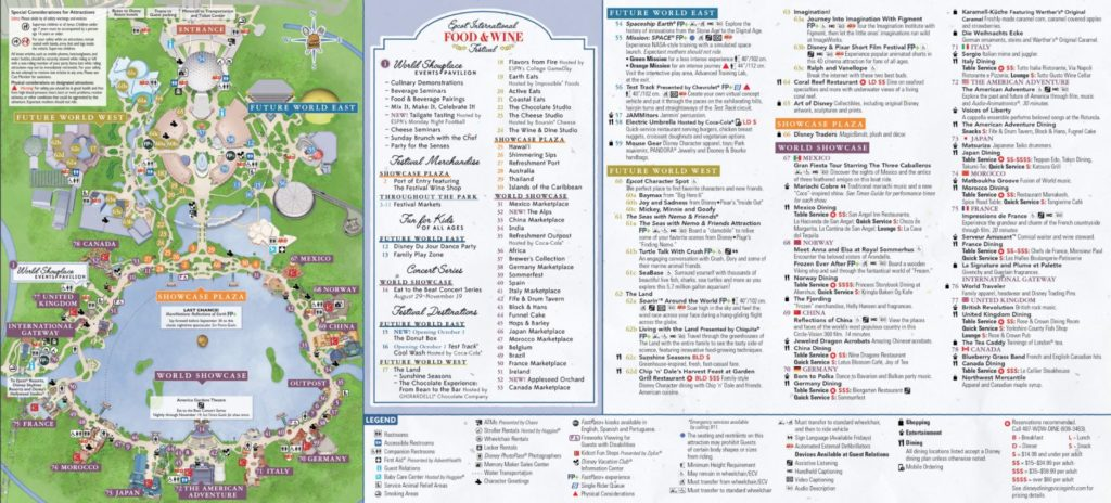 Disney World Maps 11