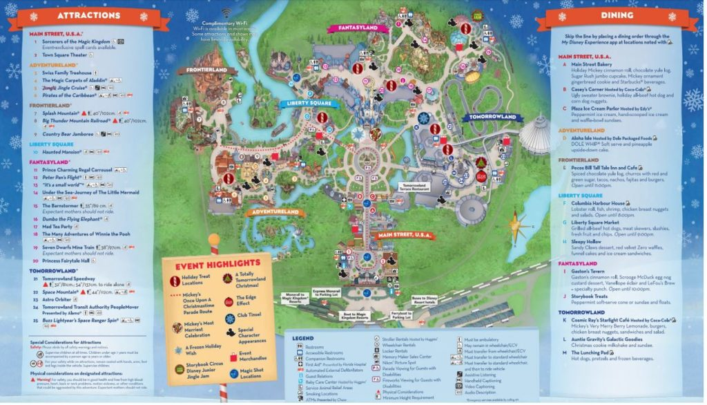 Mickey's Very Merry Christmas Party Guide Magic Kingdom 2
