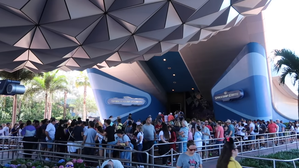 spaceship earth - rides epcot