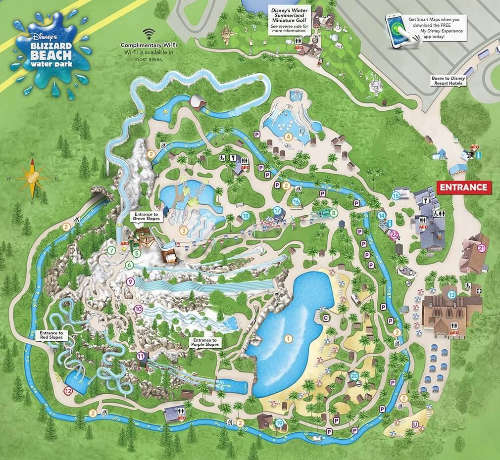 map of blizzard beach orlando Blizzard Beach Water Park The Ultimate Guide 2020 Wdw Travels map of blizzard beach orlando
