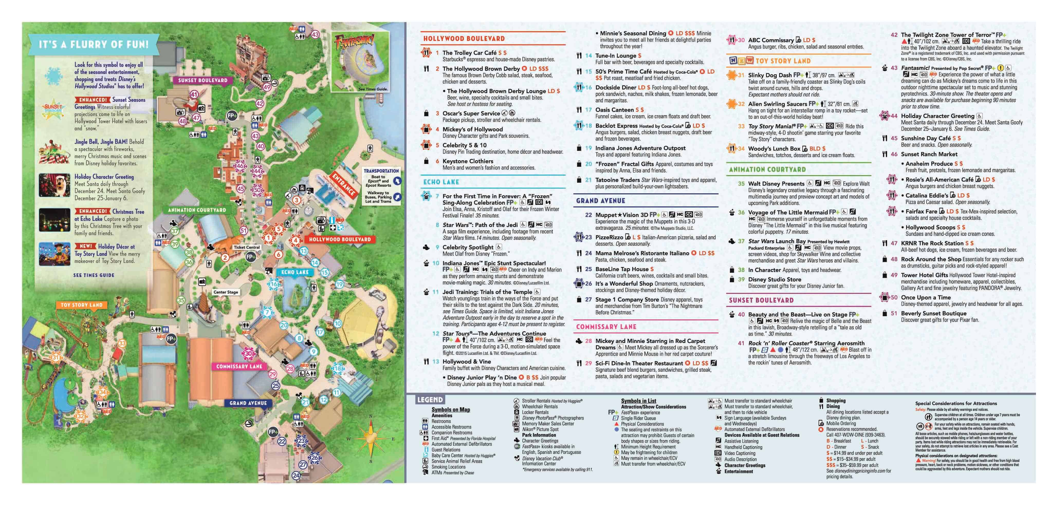 Disney's Hollywood Studios : The Ultimate Guide 1
