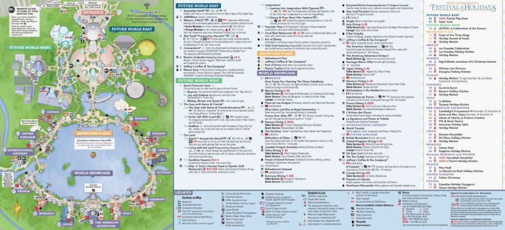 Disney World Maps 14