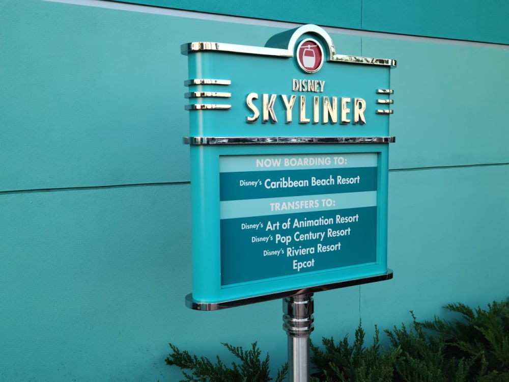 Disney Skyliner Gondola System : Map, Capacity and More Tips 1