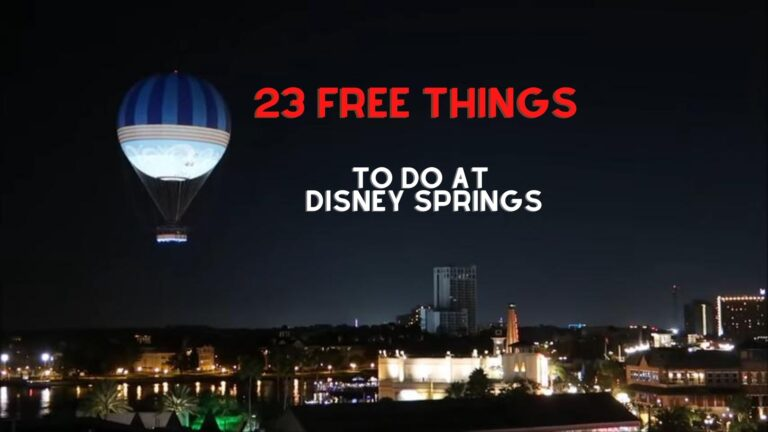 23 Free Things To Do At Disney Springs