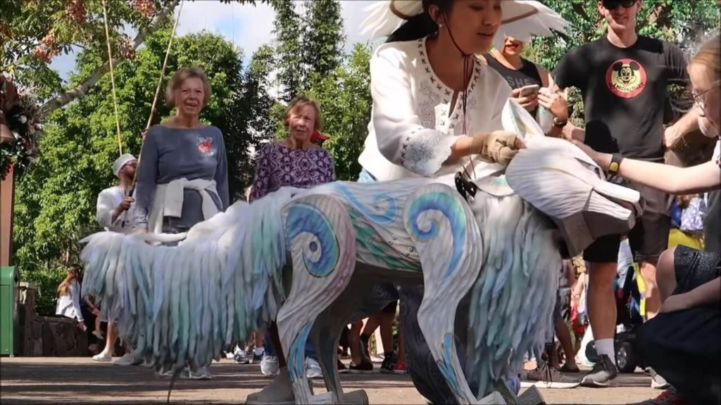 Animal Kingdom Winter Festival Magical Menagerie