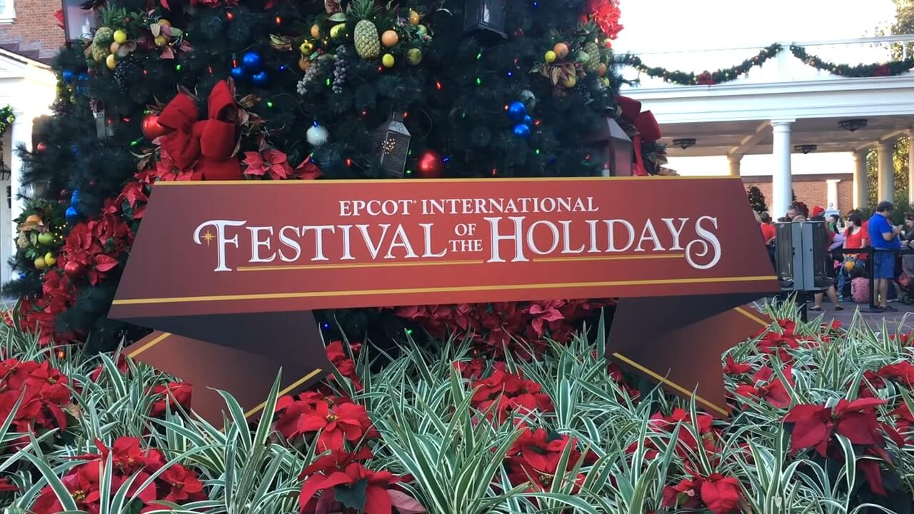 Guide To Epcot's Festival Of The Holidays Epcot 1