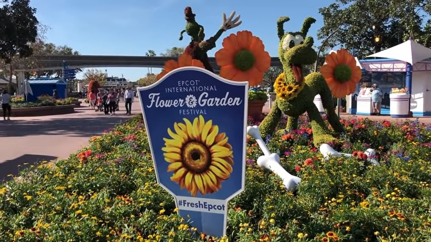 Epcot Flower And Garden Festival Guide 1