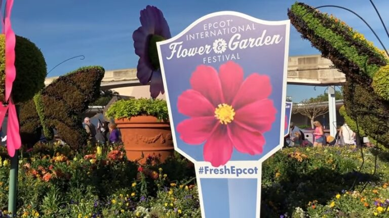 Epcot Flower And Garden Festival Guide