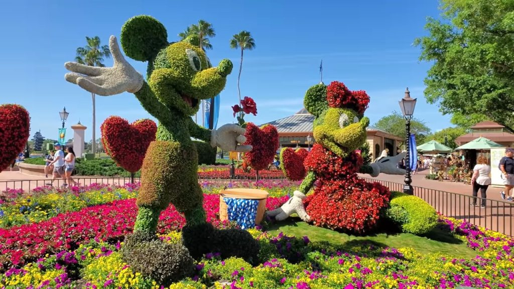 Epcot Flower And Garden Festival Guide 2