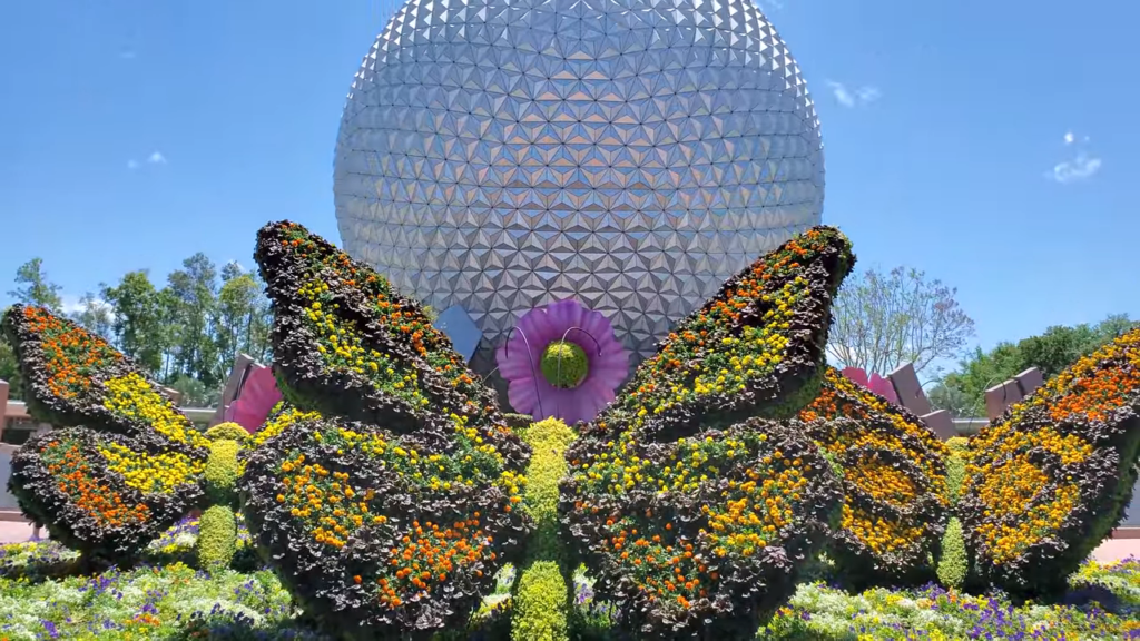 Epcot- Flower and Garden Festival- Butterfly