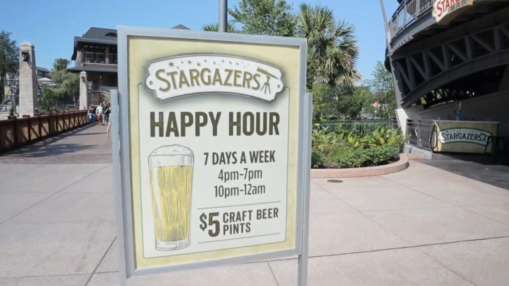 Stargazers Bar Disney Springs