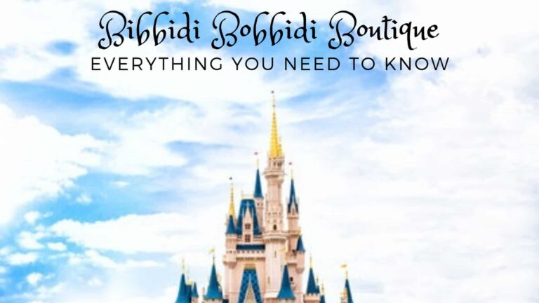Bibbidi Bobbidi Boutique (Cost, Hairstyles & More)