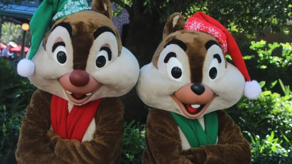 chip and dale christmas flurry of fun