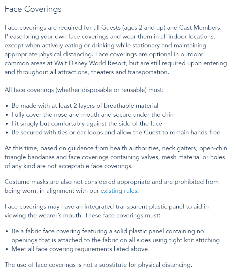 Disney World Will No Longer Require Face Masks Outdoors as of May 15th! News 2