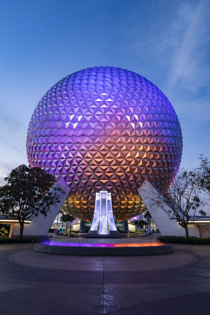First Look: New Entrance Fountain Celebrates the Past, Present and Future of EPCOT Epcot 8