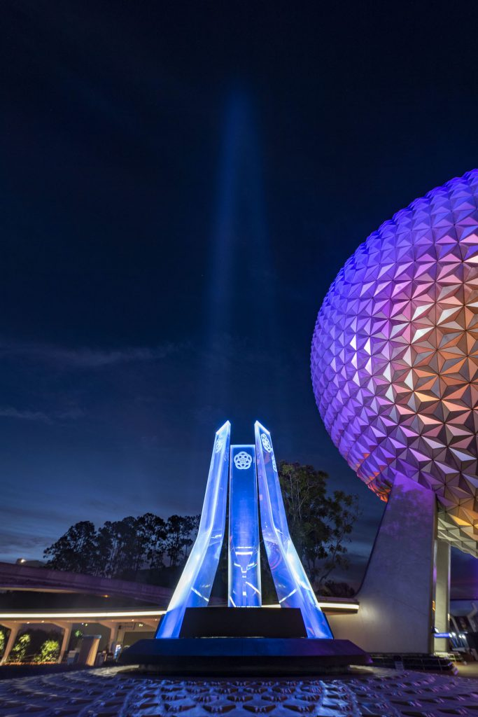 First Look: New Entrance Fountain Celebrates the Past, Present and Future of EPCOT Epcot 9