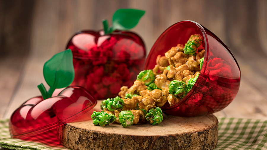 Offerings from Appleseed Orchard Marketplace for the 2020 Epcot Taste of International Food & Wine Festival - Caramel-Apple Popcorn