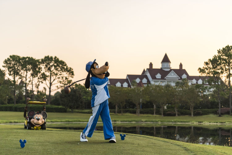 disney world golfing