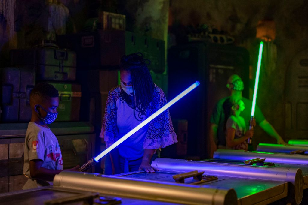Ultimate Guide to Savi's Workshop (Lightsabers, How Much, & Tips) Hollywood Studios 5