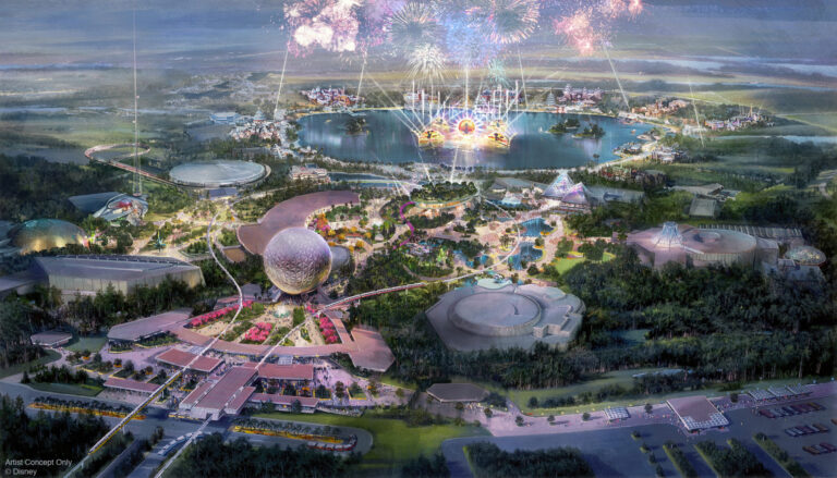 Historic Transformation of Epcot Continues at Walt Disney World Resort