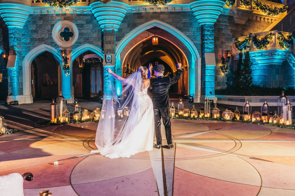 Jordan Fisher and Ellie Woods Find Their Own Happily Ever After at Magic Kingdom Park 2