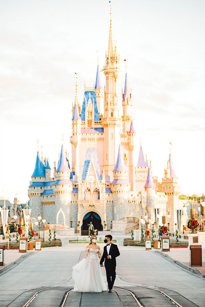 Jordan Fisher and Ellie Woods Find Their Own Happily Ever After at Magic Kingdom Park