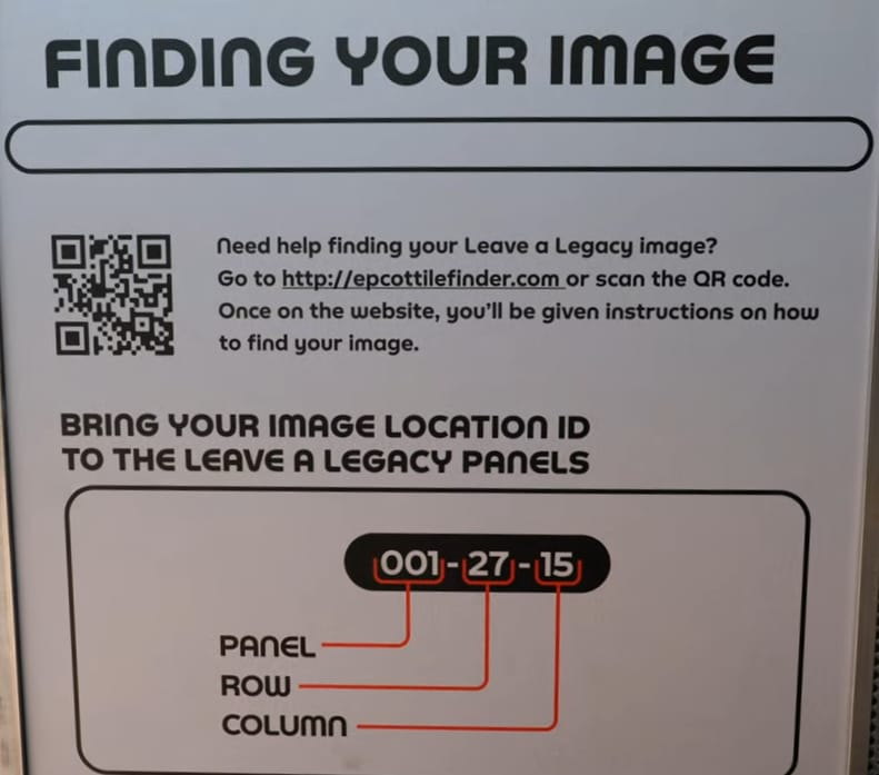 New Leave A Legacy Tile Walls At Epcot News 2