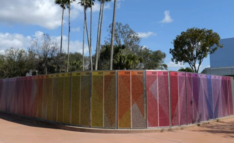 New Leave A Legacy Tile Walls At Epcot